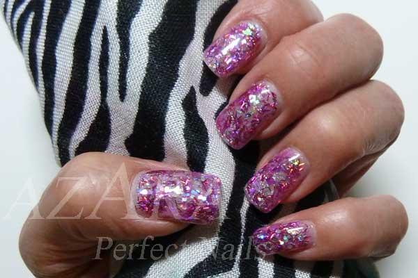 Dezent acryl nägel Acryl nagel